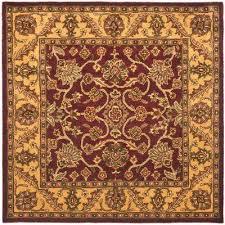 golden jaipur burdy gold 6 ft x 6 ft square area rug