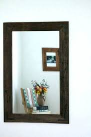rustic mirror frame mirror frame ideas for bathroom rustic rustic wall mirror uk