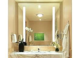 bathroom mirror tv tv behind mirror bathroom diy