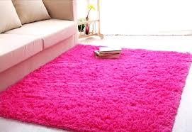 pink area rugs for girls room baby nursery cozy home interior decoration with cream sofa and