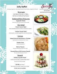 Holiday Menu Holiday Menus Pdf Spectacular Event Center Catering