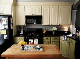 Kitchen Cabinets Paint Colors Best Two Tone Kitchen Cabinets Ideas For More Colorful Atmosphere