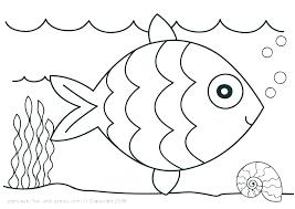 Coloring Pages Of The Ocean For Kindergarten Preschool Sea Animals