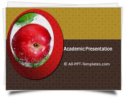 Ppt Template For Academic Presentation Academic Presentation Template