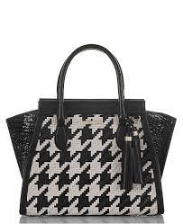 Brahmin Priscilla Black Belcourt Leather Satchel & Reviews - Handbags &  Accessories - Macy's
