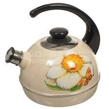 <b>Чайник эмалированный</b> Рубин Ростов С2200 со свистком, <b>3.5 л</b> ...