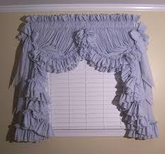 Gingham Ruffle Curtains And Ruffled Priscilla Curtains At Deloresu0027 Ruffles