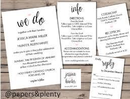 Wedding Invitation Inserts Inserts For Wedding Invites Wedding