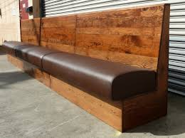 leather bench seat cushions image and description