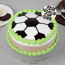 Fifa Special Birthday Cake 1kg Gift Chocolate Football Cake Online