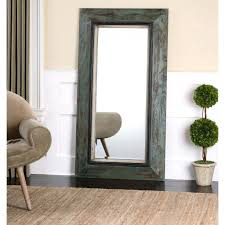 wall mirrors distressed wood framed mirrors distressed rectangular wooden wall mirror wooden floor length mirror
