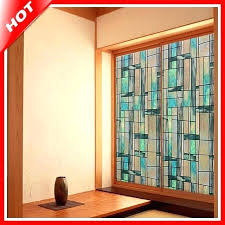 stained glass window decals stained glass sticker for window fashion stained glass decorative stained glass window privacy window stained glass