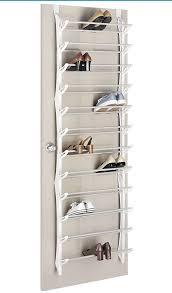 whitmor shoe rack upto 36 pairs hang on the door type