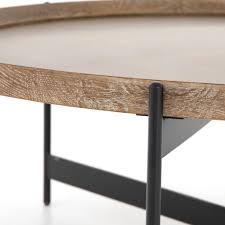 A classic traditional style, this coffee table is a great addition to your living room. Nathaniel Coffee Table In Light Burnt Oak Burke Decor