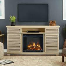 full image for tv stand with built in electric fireplace uk weathered white real flame stands
