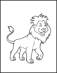 Small Picture Lion coloring page Animals Town animals color sheet Lion
