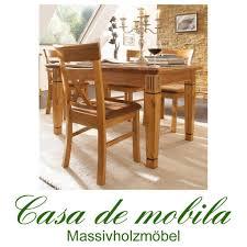 Landhaus Tisch Ausziehbar 140 200x95 Holz Kiefer Massiv Goldbraun