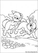 Small Picture Disney Bunnies coloring pages on Coloring Bookinfo