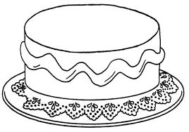 Taart Versieren Kleurplaat Kleurplaat Taart 25 Allerleukste Taarten