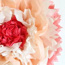 Large Tissue Paper Flower How To Make Giant Tissue Paper Flowers