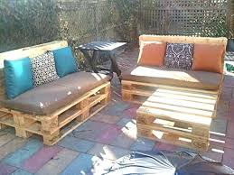 shipping pallet furniture ideas. patio skid set outdoor table diy pallet projects 50 furniture ideas shipping