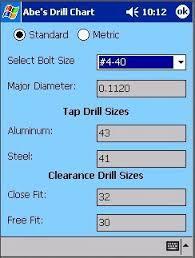 Abes Desktop Drill Chart 1 0 Download Free