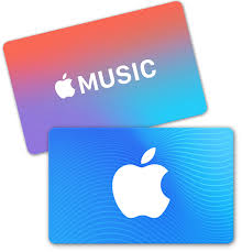 an app itunes gift card and an apple gift card
