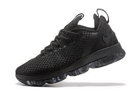 lebron shoes 14 2017. cheap nike lebron 14 low triple black dark grey basketball shoes for sale-3 lebron 2017