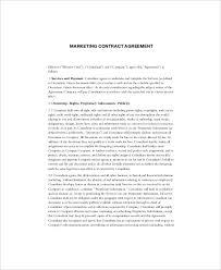 Get your free sample of the agency agreement template on cocosign now! Marketing Agency Contract Agreement Template Bonsai Bonsai