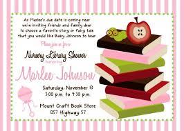 Book Themed Baby Shower Invitations U0026 Announcements  ZazzleLibrary Themed Baby Shower Invitations