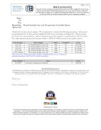 price quotation format doc 100 template for quotation letter quotes for quote letter