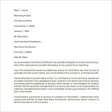 termination letter template 15 job termination letter templates free sample example format