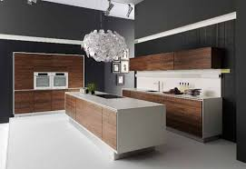 Modern Wood Kitchen Cabinets Awesome Modern Kitchen Lighting Ideas With White Flower Metal And
