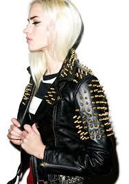 killstar luxe spike jacket killstar luxe spike jacket