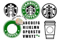 starbucks coffee cup logo. Simple Coffee Starbucks Coffee Svg File Coffee CUT SVG Png Jpg  Custom Starbucks Logo For Silhouette Cameo Or Cricut DIY Throughout Cup Logo