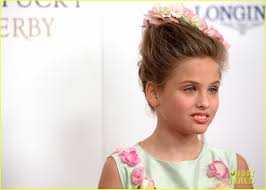 Kentucky Derby Hairstyles Anna Nicole Smiths Daughter Dannielynn Birkhead 9 Looks All