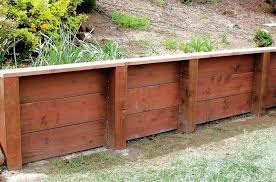 wooden retaining wall retaining walls construction portfolio a and j fencing surprising pressure treated wood wall