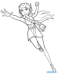 Big Hero 6 Coloring Pages Disneyclipscom