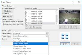 powerpoint photo albums fast way to create photo album in powerpoint