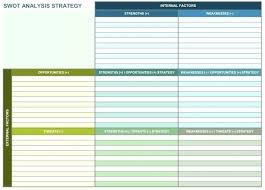Small Business Plan Template One Page Strategic Planning For Your ...
