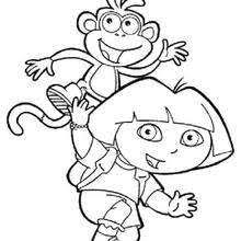 Small Picture DORA THE EXPLORER coloring pages 53 printables of your favorite