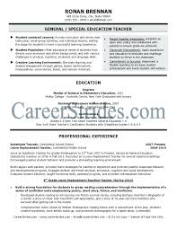 Resume Long Term Substitute Teacher Resume Format Objective Long
