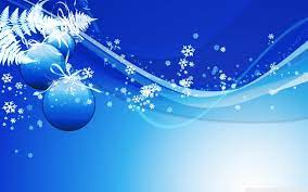 Blue Christmas Wallpapers (70+ ...