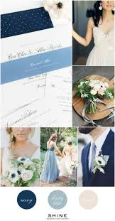 Navy + Dusty Blue Wedding Inspiration. Wedding Color SchemesWedding ...
