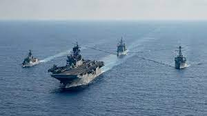 Australian Warship Joins U.S. Exercise in South China Sea
