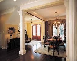 Decorative columns for walls Customizing interior design with classy square  columns ...