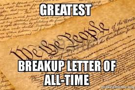 241 Years Ago The Greatest Break Up Letter Of All Time Was Written