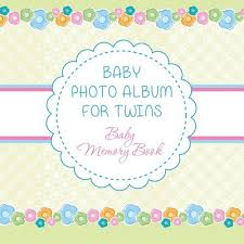 Baby Photo Album Book Baby Photo Album For Twins Baby Memory Book