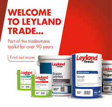 Leyland Emulsion Colour Chart Leyland Trade
