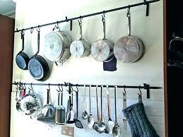 pots and pan wall rack pots and pans wall racks pot rack pan stainless wall mounted